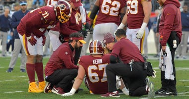 Trainers for the Washington Redskins won the Ed Block Training Staff of the Year Award.