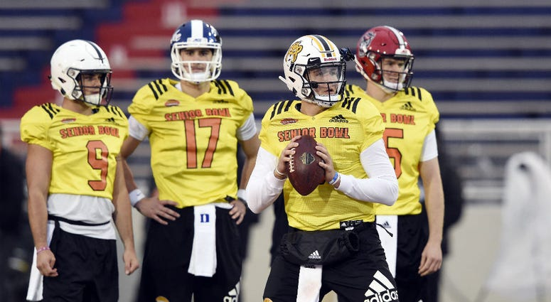 Latest mock drafts have the Redskins selecting a quarterback in the 1st round.