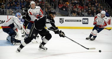 Washington Capitals acquired forward Carl Hagelin in a trade from the Los Angeles Kings.