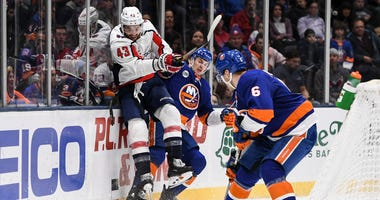 Caps-Isles playoff series would be 'knockdown, drag-out'