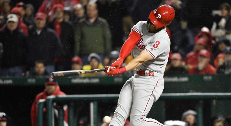 Bryce Harper returned to D.C. and Max Scherzer struck him out twice.