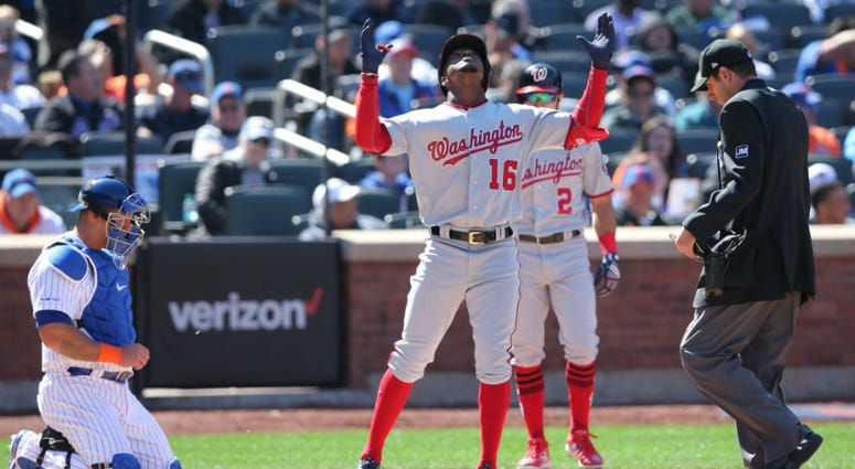 Young Nationals center fielder Victor Robles had an opening week of highs and lows.