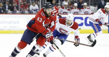 Washington Capitals forward Tom Wilson makes Alex Ovechkin a better player.