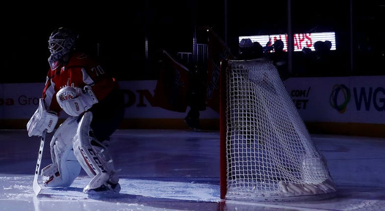 Capitals goaltender Braden Holtby has stepped up his play entering the Playoffs.