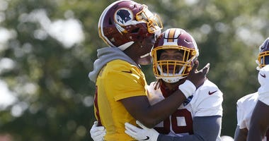 Derrius Guice won't know he's 'back' until he gets on the field