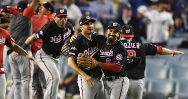Nationals exorcise playoff demons in NLDS