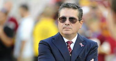 Washington Redskins owner Daniel Snyder looks on before an NFL game.