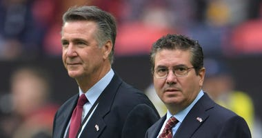 Washington Redskins owner Daniel Snyder and team president Bruce Allen.