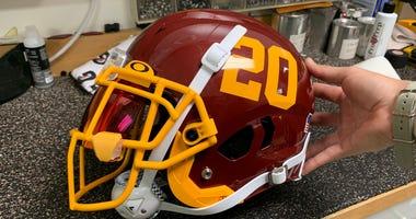 Washington Football Team unveils sleek new helmets
