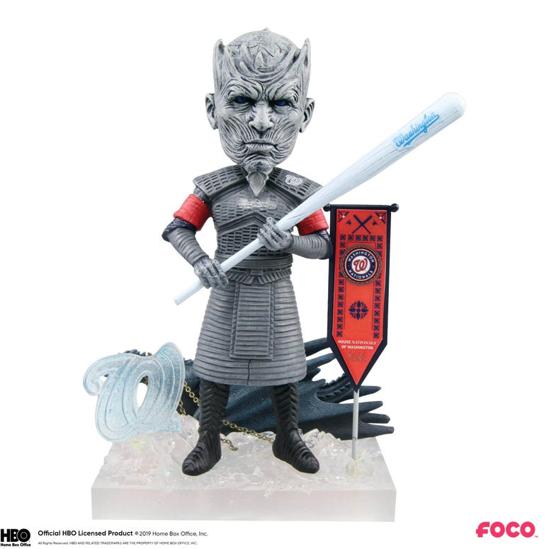 Nationals Night King Game of Thrones Bobblehead
