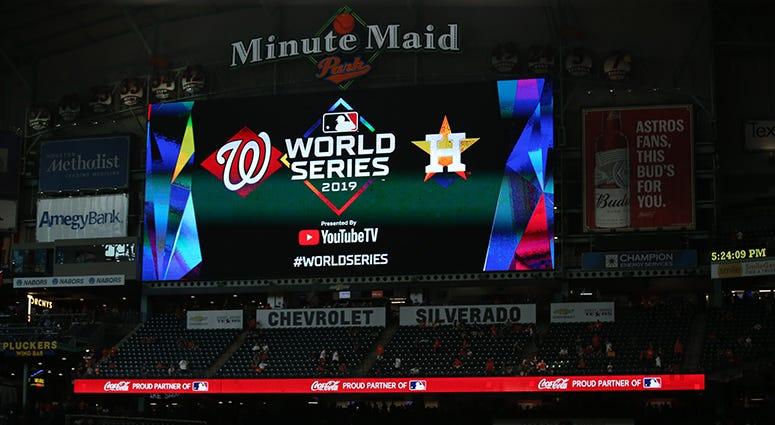 Nationals' Dozier, Parra, Zimmerman talk World Series Game 1