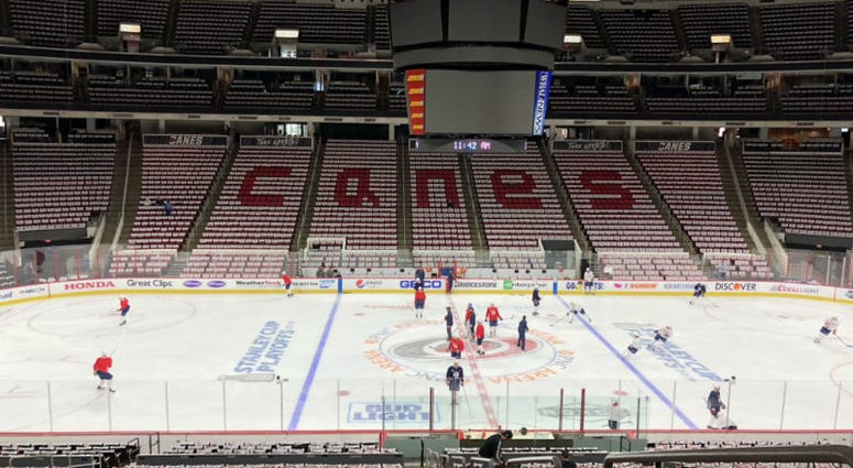 'canes' troll the Caps before Game 4, Caps hit back twice as hard