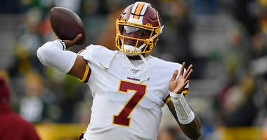 NFL Hall of Famer Michael Irvin said the Redskins should consider moving on from Dwayne Haskins.