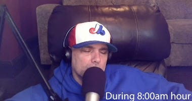 D.C. radio host falls asleep on air (watch)