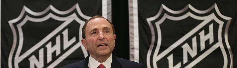 NHL Commissioner not even contemplating canceling season