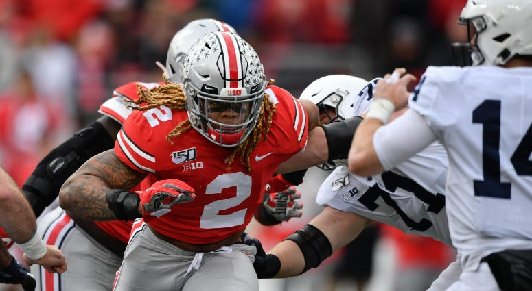 Meet the 2020 Redskins Draft Class: Chase Young, Edge, Ohio State