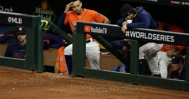 Brewery trolls Astros with new 'trash can banger' beer