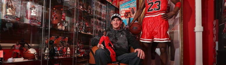 See the world's rarest Michael Jordan toy collection