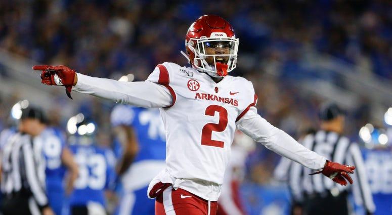 Meet the 2020 Redskins Draft Class: Kamren Curl, S, Arkansas