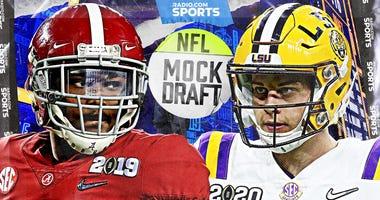 NFL Mock Draft 2020: 3 Teams Trade Up for Quarterbacks