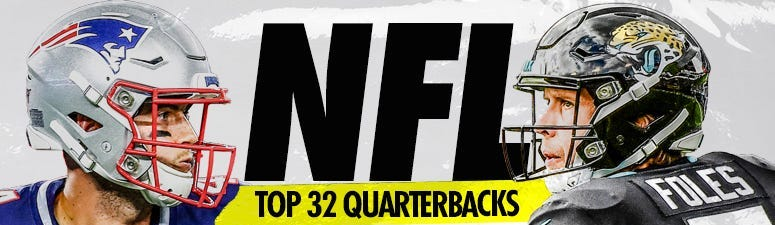 Ranking the Top 33 QBs for 2020 NFL Season