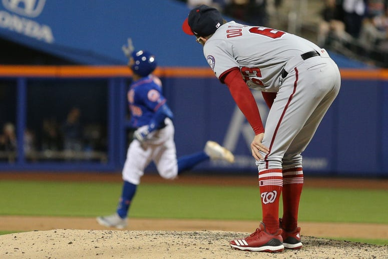 Sean Doolittle and Nationals' bullpen can't stop red-hot Mets.