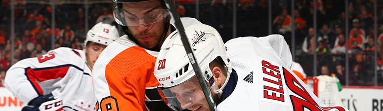 Lars Eller: Capitals must improve on setting the tone early