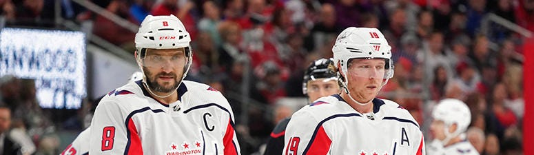 Backstrom 'critical' to Caps' pursuit of another Stanley Cup