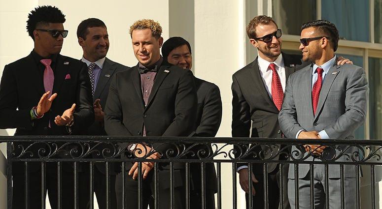 Gerardo Parra – Nationals' White House Visit