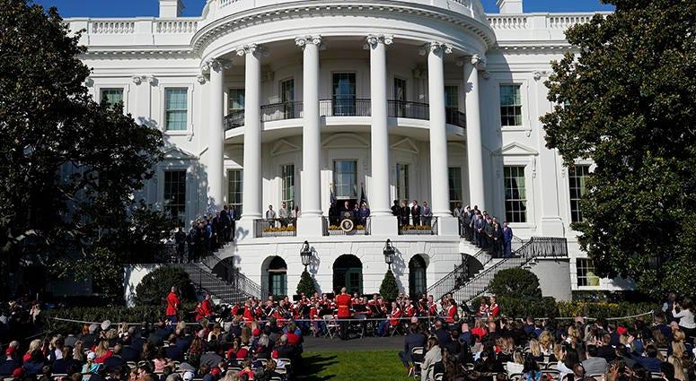 President Trump – Nationals' White House Visit