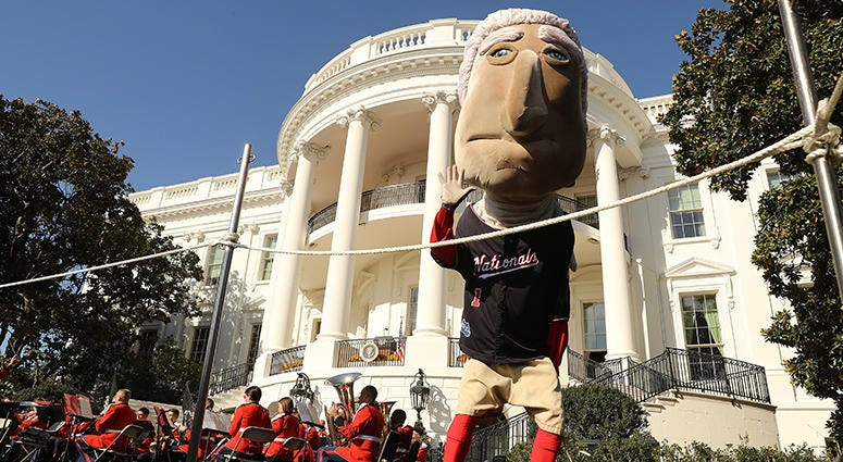 Racing Presidents – Nationals' White House Visit