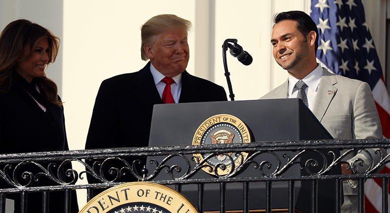 Anibal Sanchez – Nationals' White House Visit