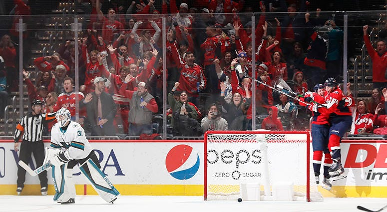 'No-quit mentality' fueled Caps' unfathomable comeback vs. Sharks