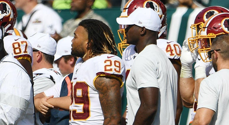 Redskins have room for AP and Guice