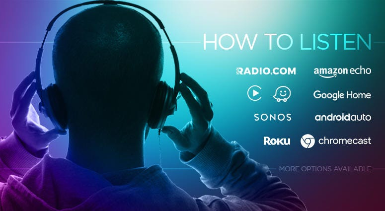 How to listen to 106.7 the Fan from any device.