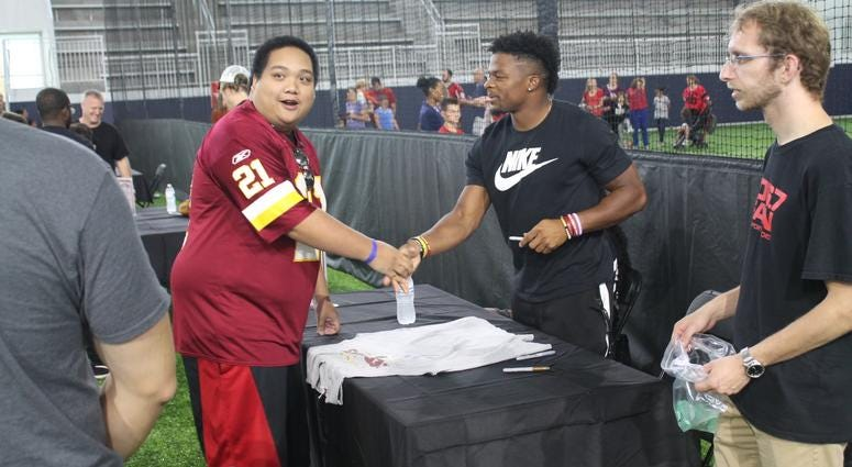 106.7 The Fan hosted their 5th Annual Fan Fest at the brand new St. James facility in Springfield, VA, where fans spent the day interacting with various vendors and participating in the day's activities.