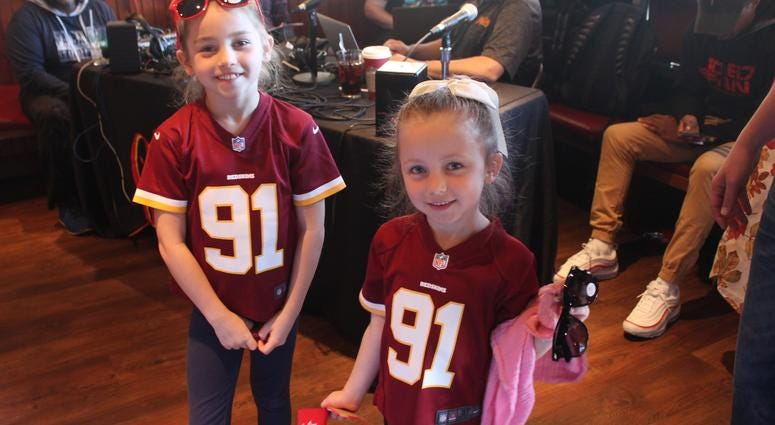The Sports Junkies Pregame Show is on to Glory Days Grill in Stone Ridge before the Redskins faced the Falcons.