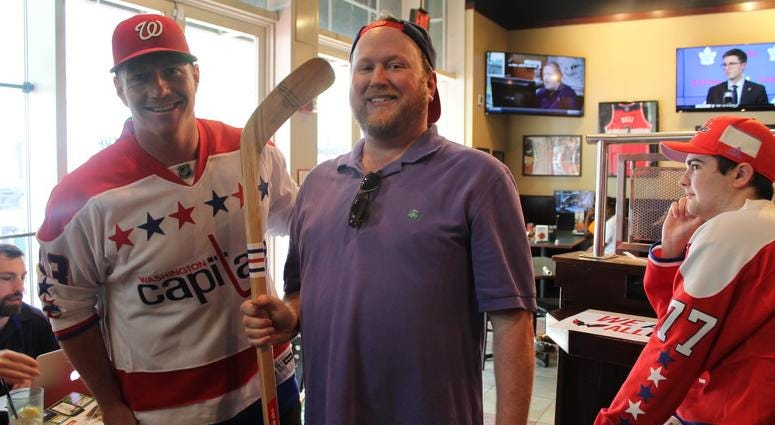 The 106.7 The Fan Street Team joins Grant & Danny as they broadcast live at The Greene Turtle during Game 1 of the Capitals vs. Lighting.