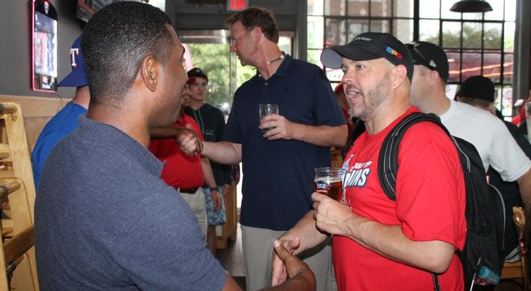 The Sports Junkies and 106.7 The Fan join Ally Bank at Willie's Brew & Que for a Home Run Derby pregame celebration!