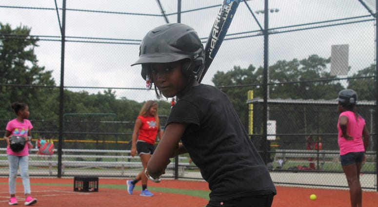 106.7 The Fan joined the Nationals Youth Baseball Academy for their last day of Summer Camp.