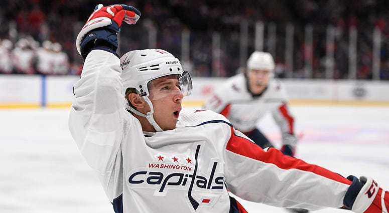 Jakub Vrana signs two-year contract with Capitals