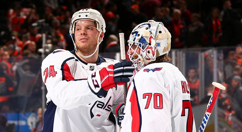 Carlson: Caps' defense ready to take on GM's challenge