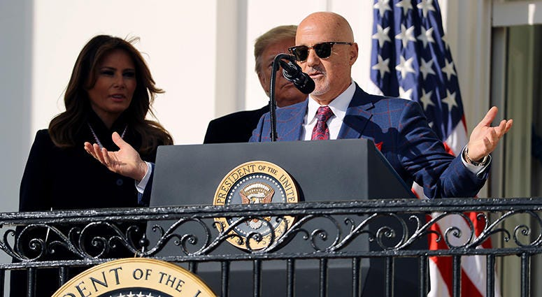 Mike Rizzo – Nationals' White House Visit