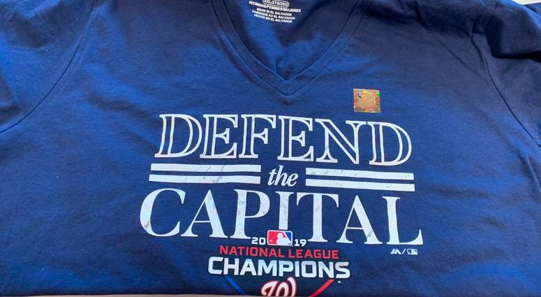 Nationals Defend The Capital Shirt