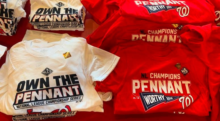 Nationals NL Pennant T-Shirts