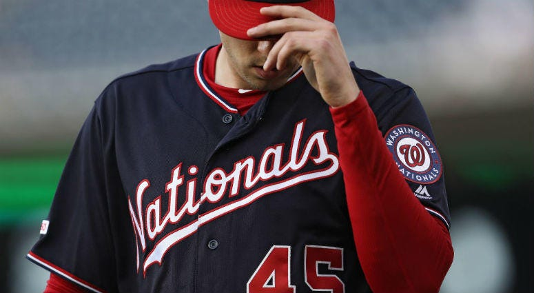 Nationals Pitcher Patrick Corbin