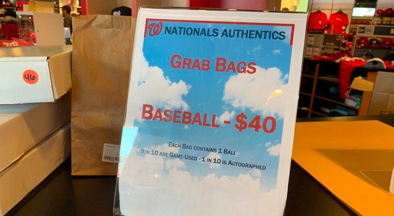 Nationals World Series Grab Bags