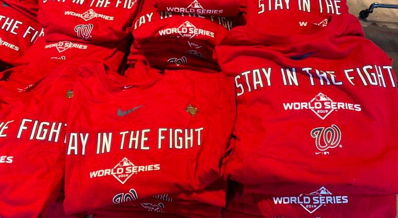 Nationals World Series Stay In The Fight Shirt