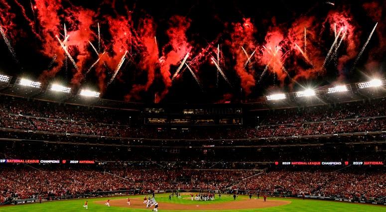 Nats Park Fireworks