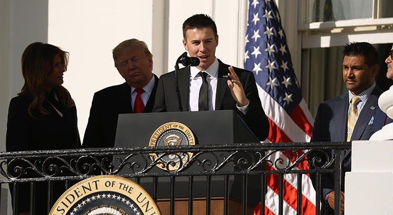Patrick Corbin – Nationals' White House Visit